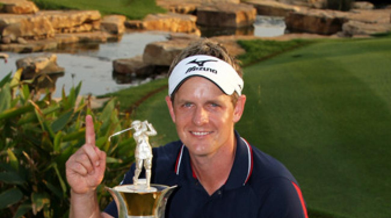Luke Donald shot a final-round 66 to clinch the European Tour money title.