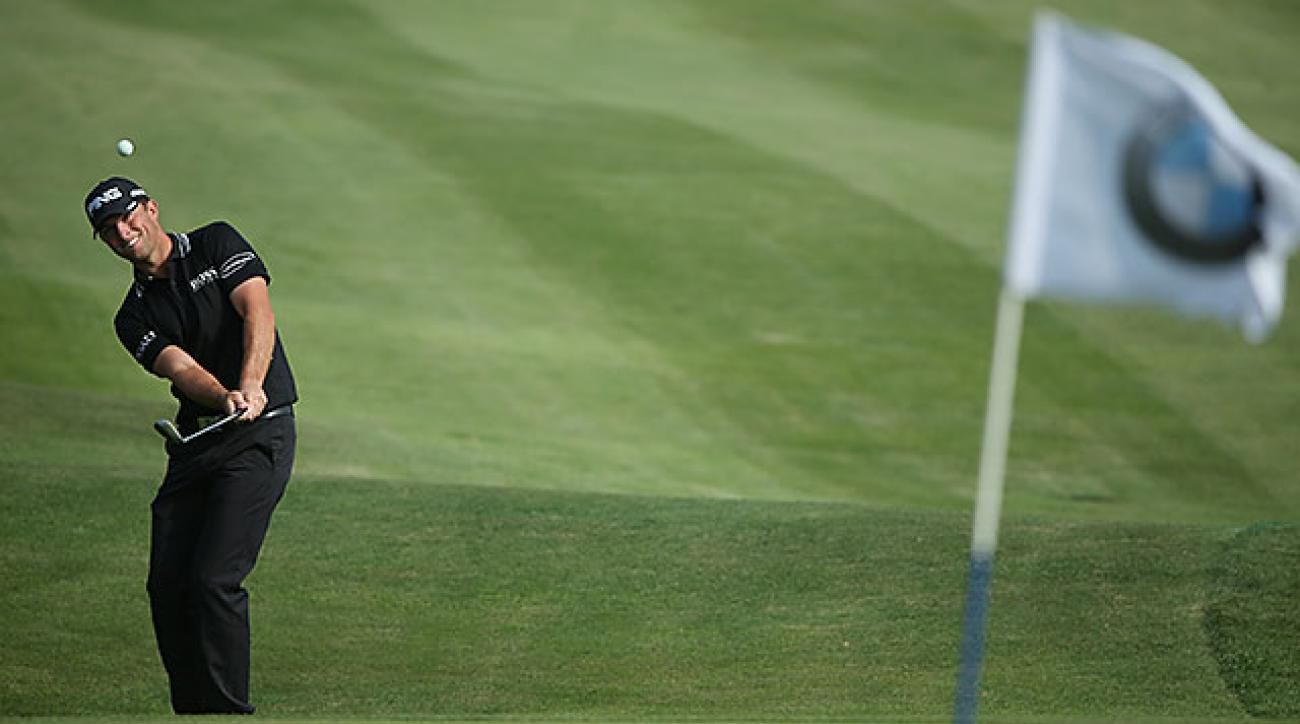 The 23-year-old Guthrie's best PGA Tour finish came at the 2013 Honda Classic. He placed third.