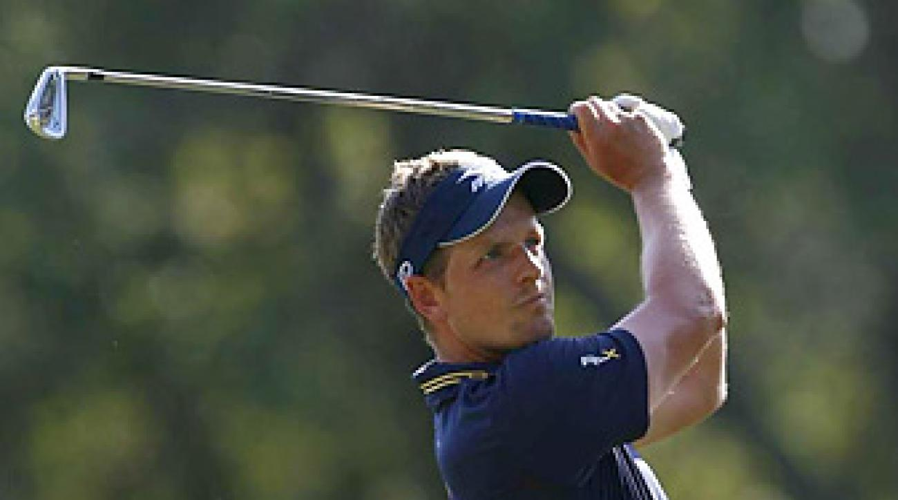 Luke Donald enters the Masters as the top-ranked player in the world.