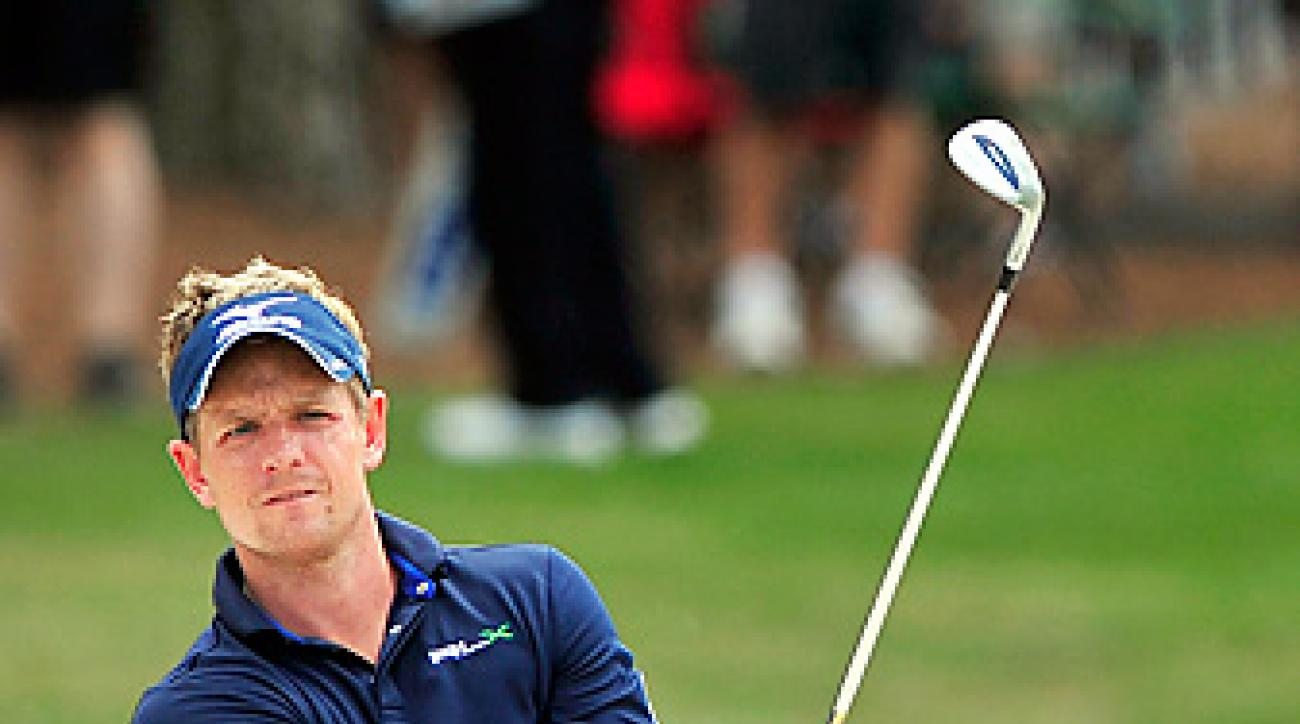 Luke Donald shot an even-par 71 on Sunday at Harbour Town.
