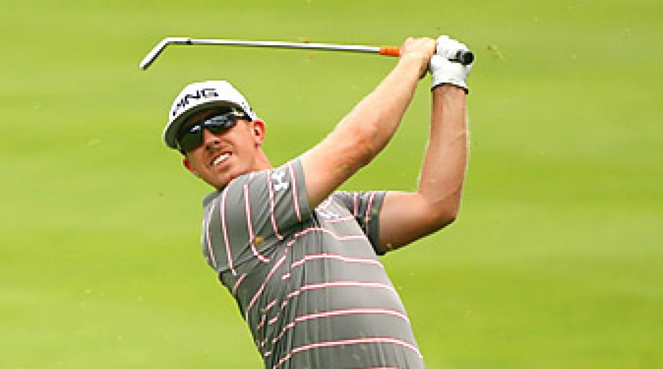 Hunter Mahan is currently eighth in the U.S. Ryder Cup standings.