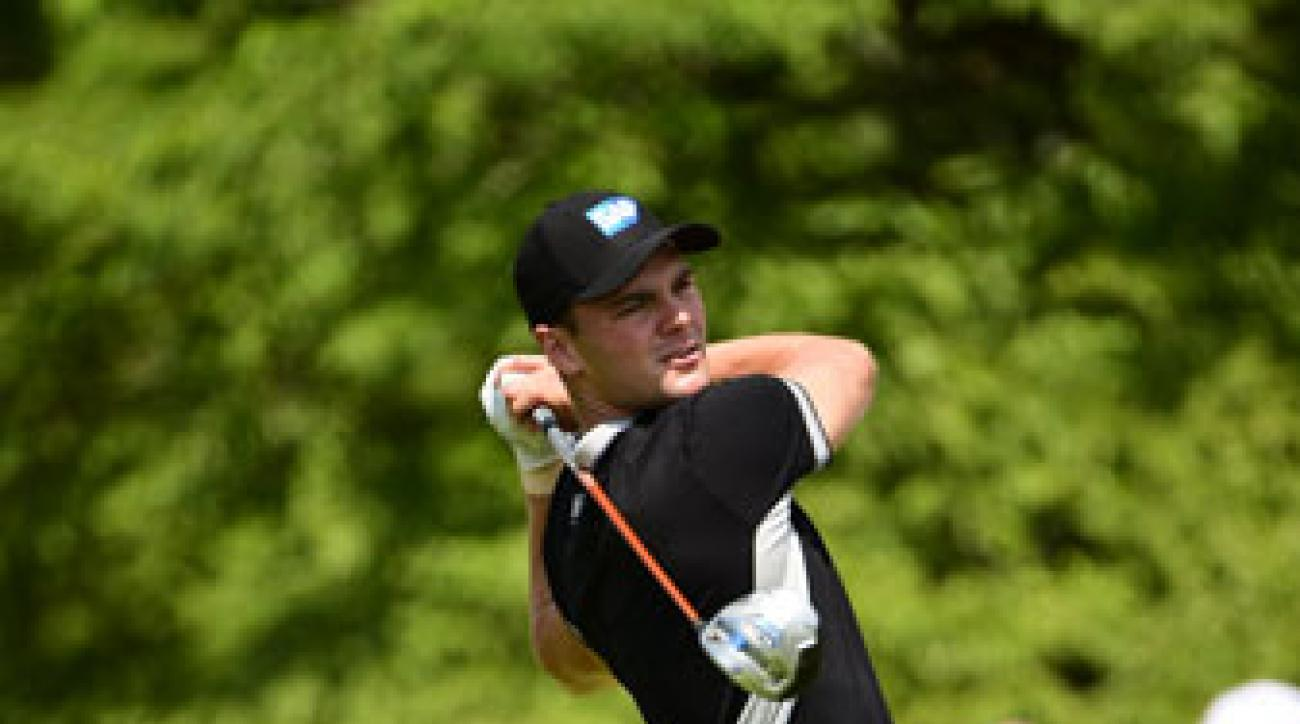 Martin Kaymer shoots his second consecutive 65 in the second round of the U.S. Open at Pinehurst No. 2.