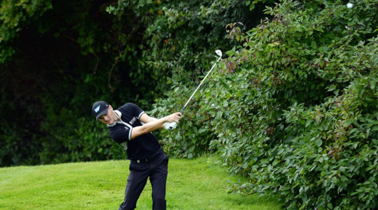 U.S. Open champion Martin Kaymer missed the cut at the BMW International Open.