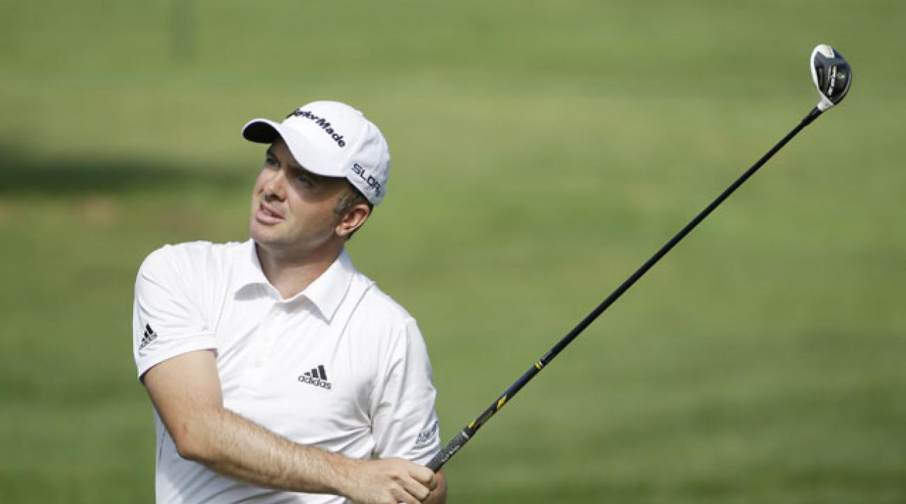 Martin Laird shot 5-under-par 67 to finish at 10-under after two rounds of the Frys.com Open.
