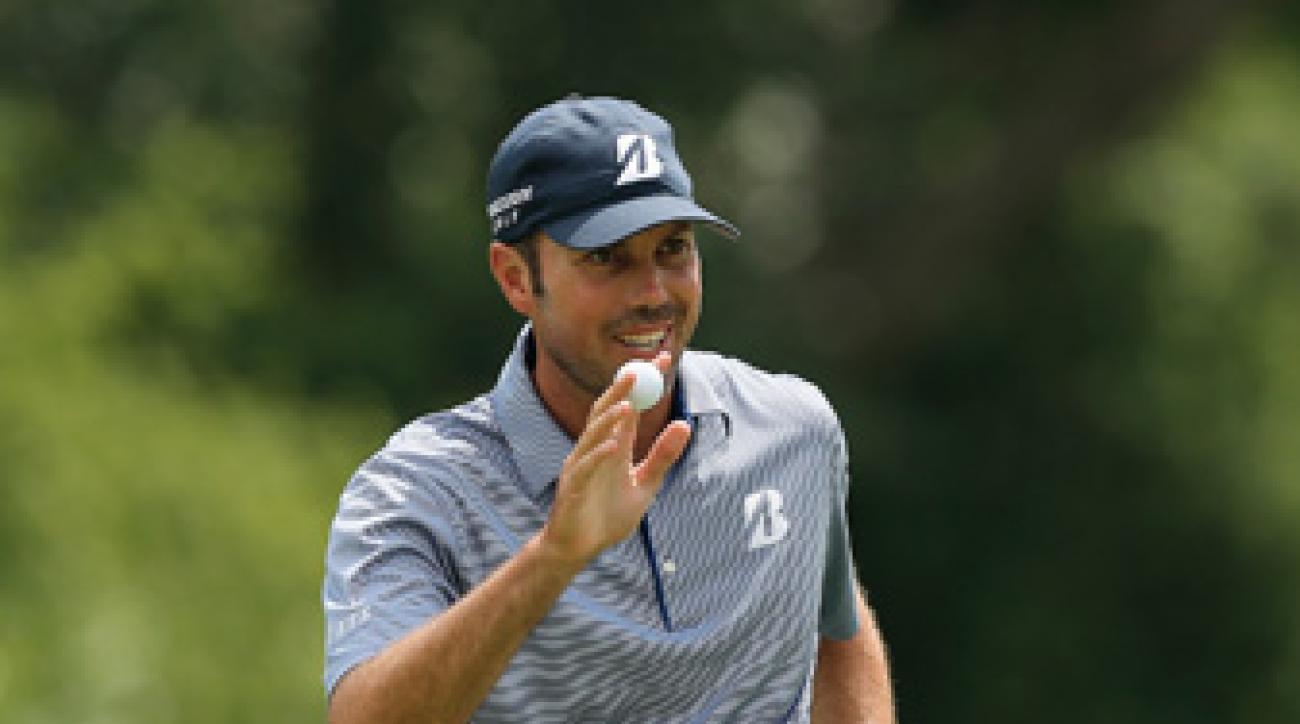 Matt Kuchar won the Accenture Match Play for his first career World Golf Championship title.