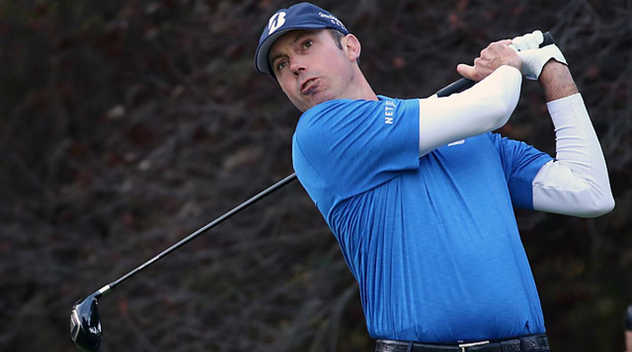 The duo of Matt Kuchar (pictured) and Harris English shot 25 under in their last 28 holes.