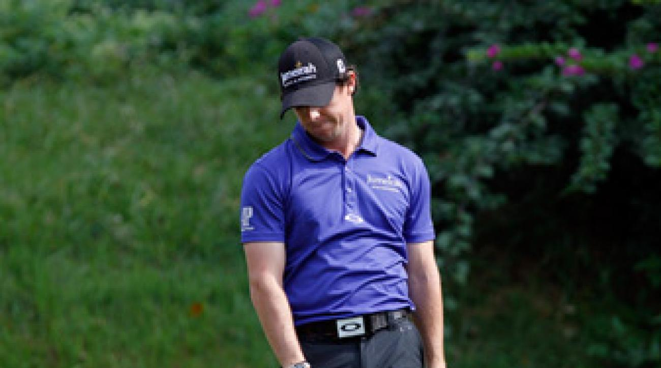 Rory McIlroy enters the Barclays ranked No. 1 in the world.