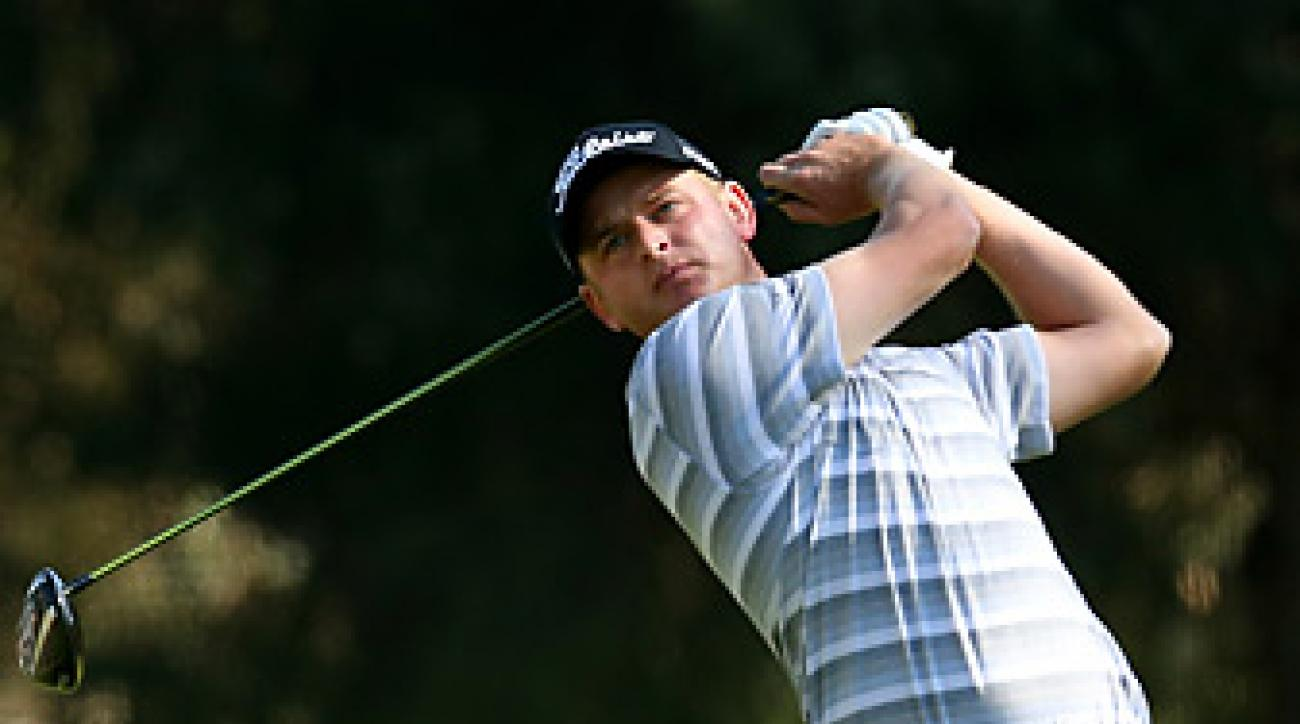 John Merrick earned his first career PGA Tour title at Riviera.