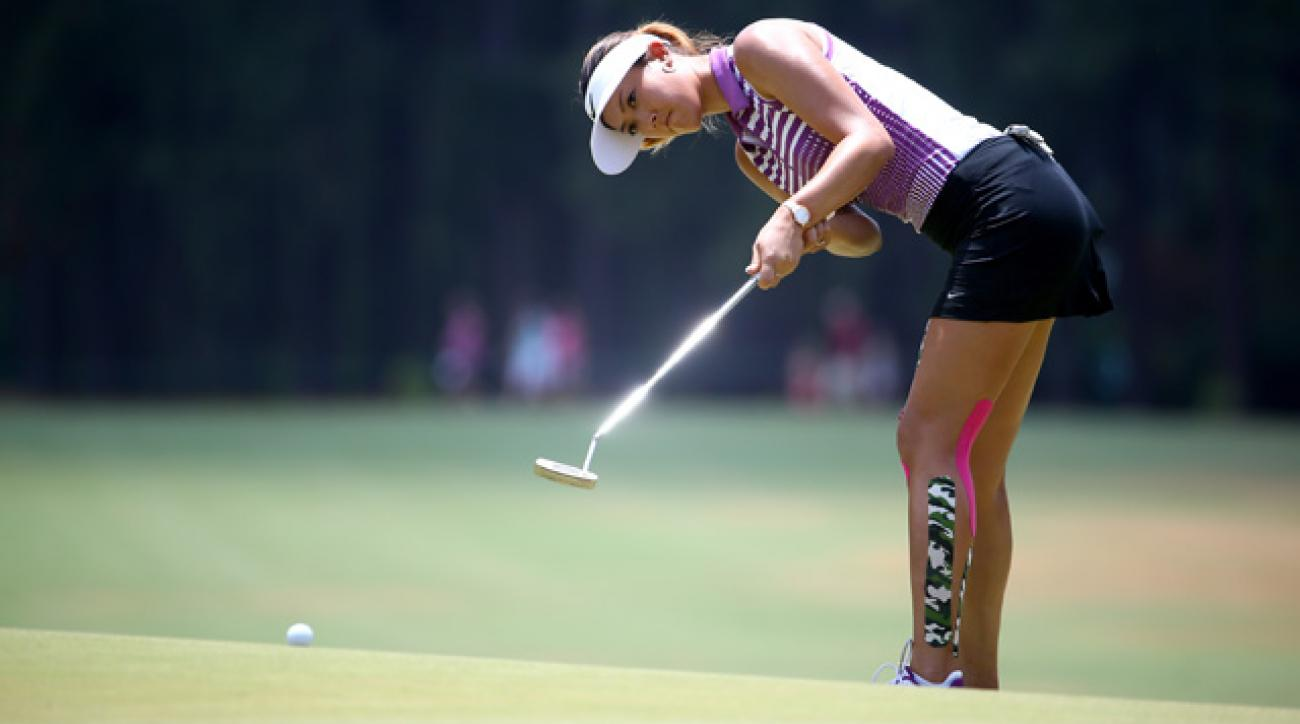 Michelle Wie shot a 2-over 72 on Saturday.