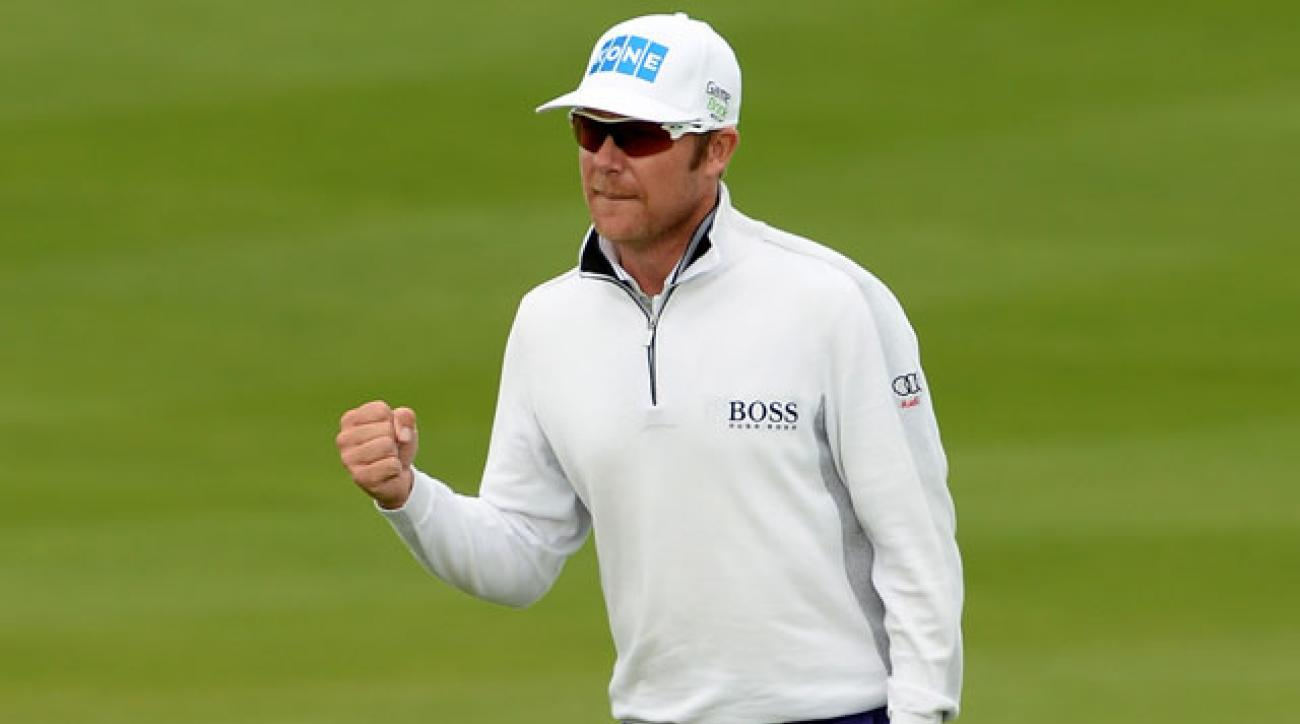Mikko Ilonen defeated Joost Luiten in the semifinals to advance to the title match against Stenson.