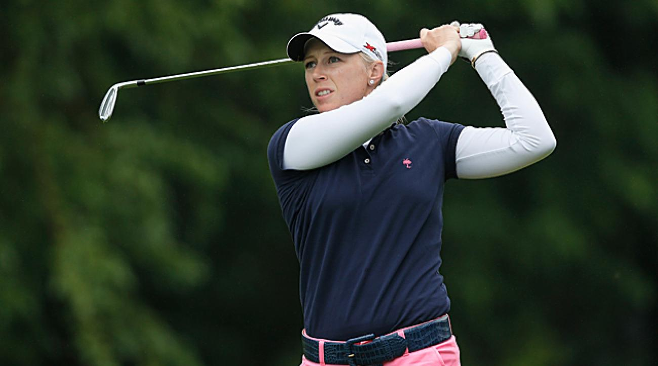 Pressel is the youngest-ever LPGA major winner, winning the 2007 Kraft Nabisco Championship at the age of 18.