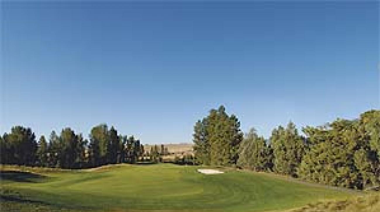 The 13th at Big Mountain Golf Club