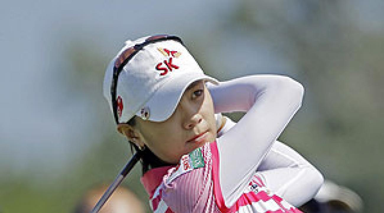 Na Yeon Choi shot a one-under 71 on Sunday.