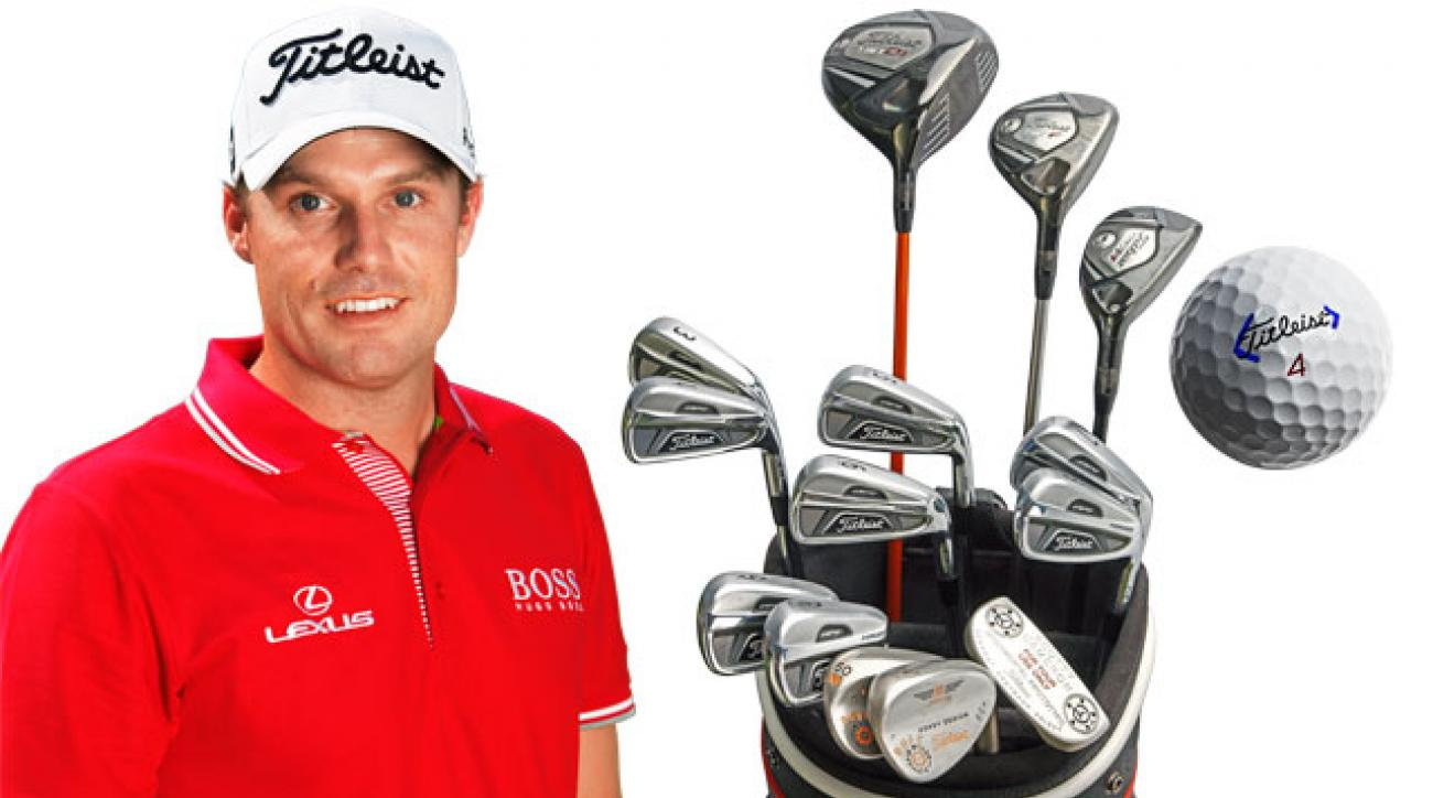 Nick Watney and his Titleist equipment