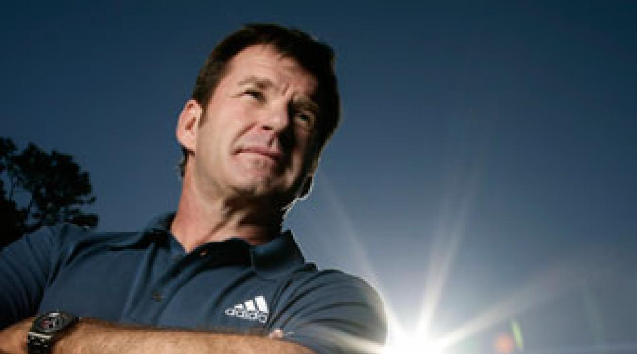 Nick Faldo earned 25 points in Ryder Cup competition, the most of any European player.