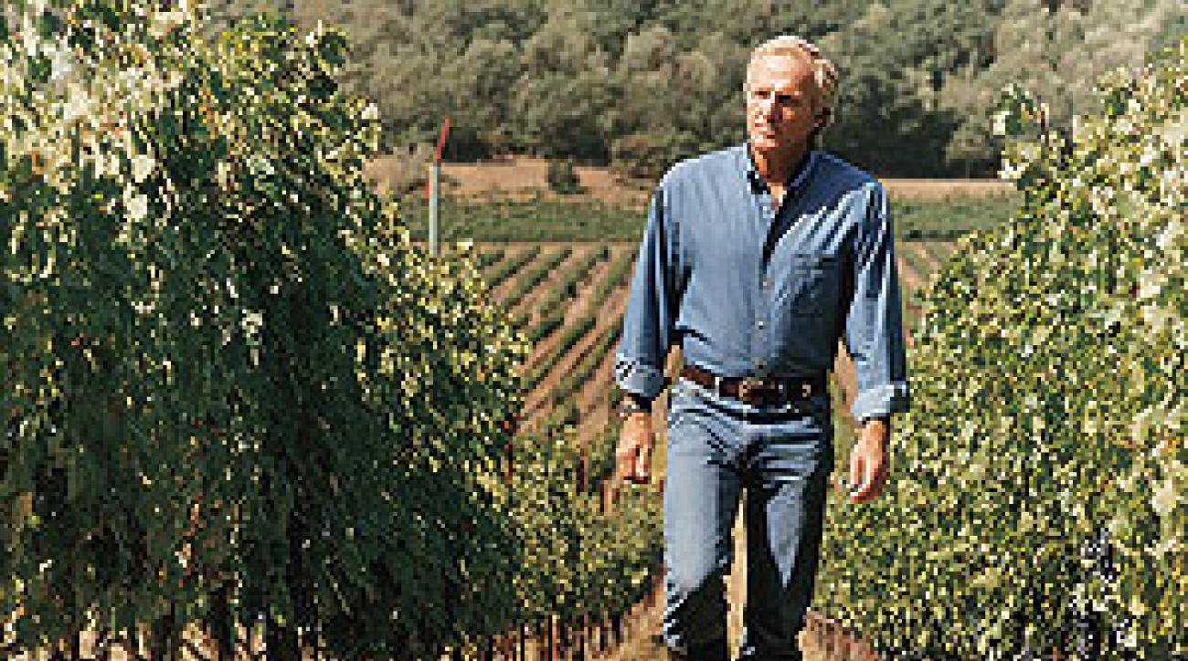Greg Norman's vineyard in Napa is like his other business ventures: high-growth