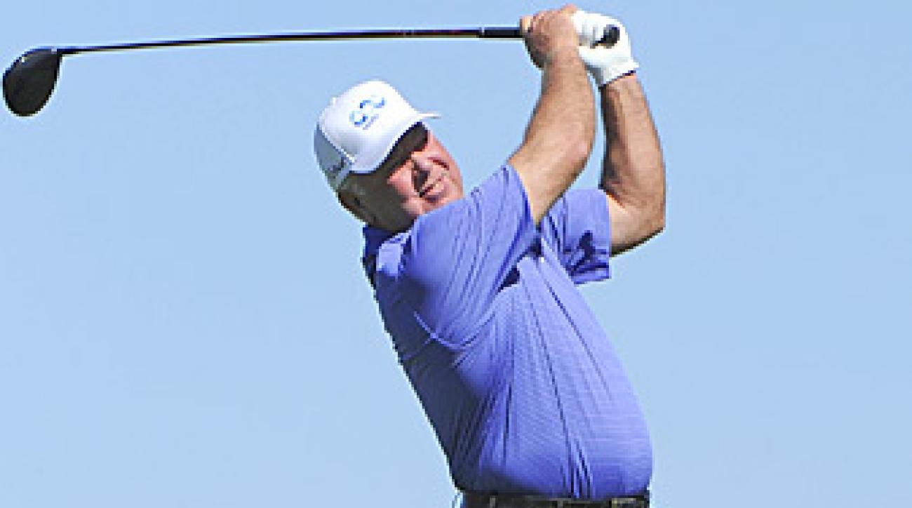 """Mark O'Meara thinks Vijay Singh should be suspended for """"a couple of months."""""""