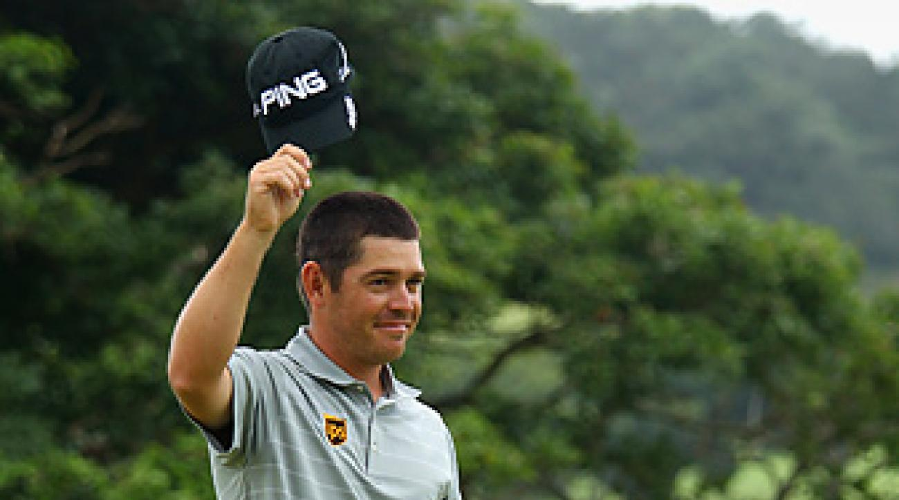 Louis Oosthuizen won the Africa Open for the second straight year.