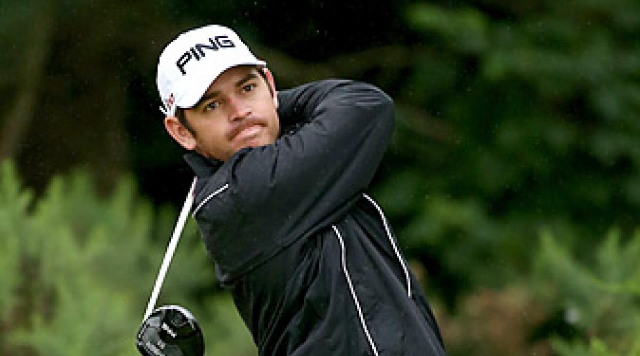 Louis Oosthuizen looks like a serious contender for his second British Open title this week.