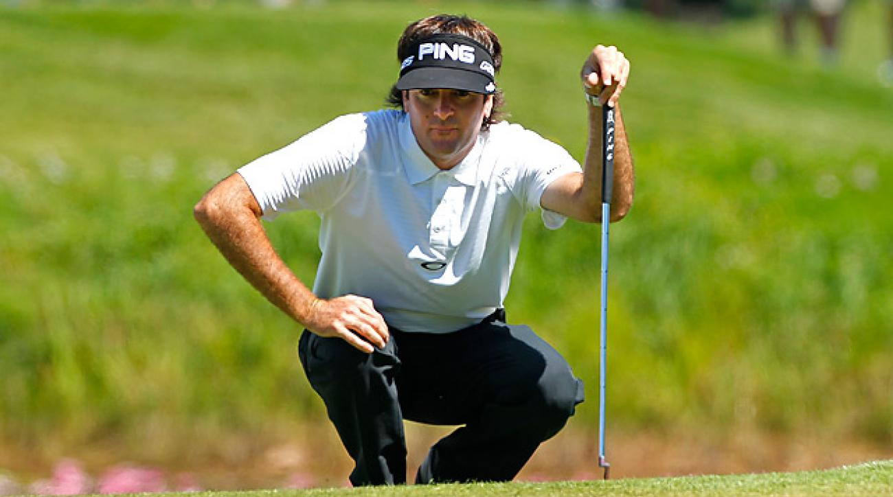 Bubba Watson opened with a four-under 68 at the Canadian Open.