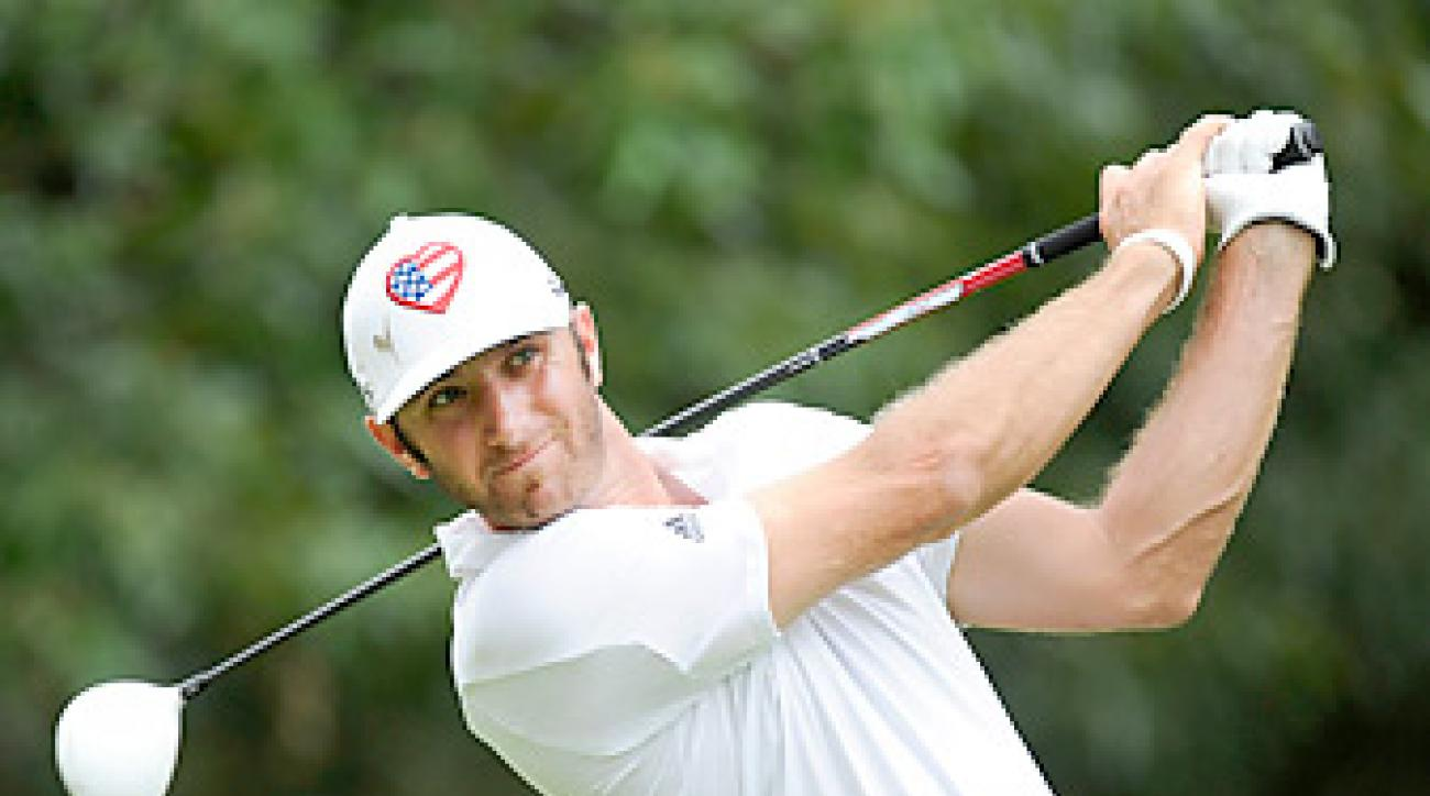 Dustin Johnson made five birdies and one bogey in the final round.