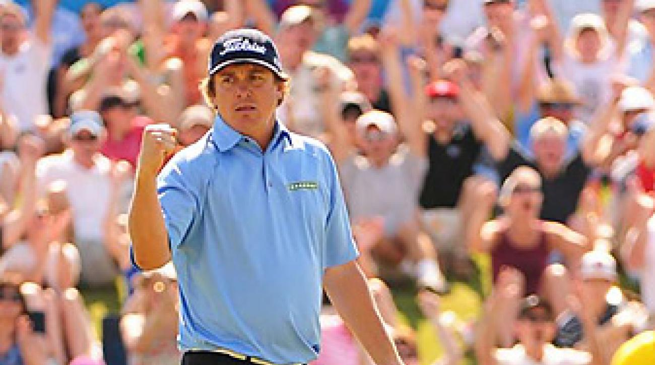Dufner's most recent victory came at the Byron Nelson, which put him atop the money list.