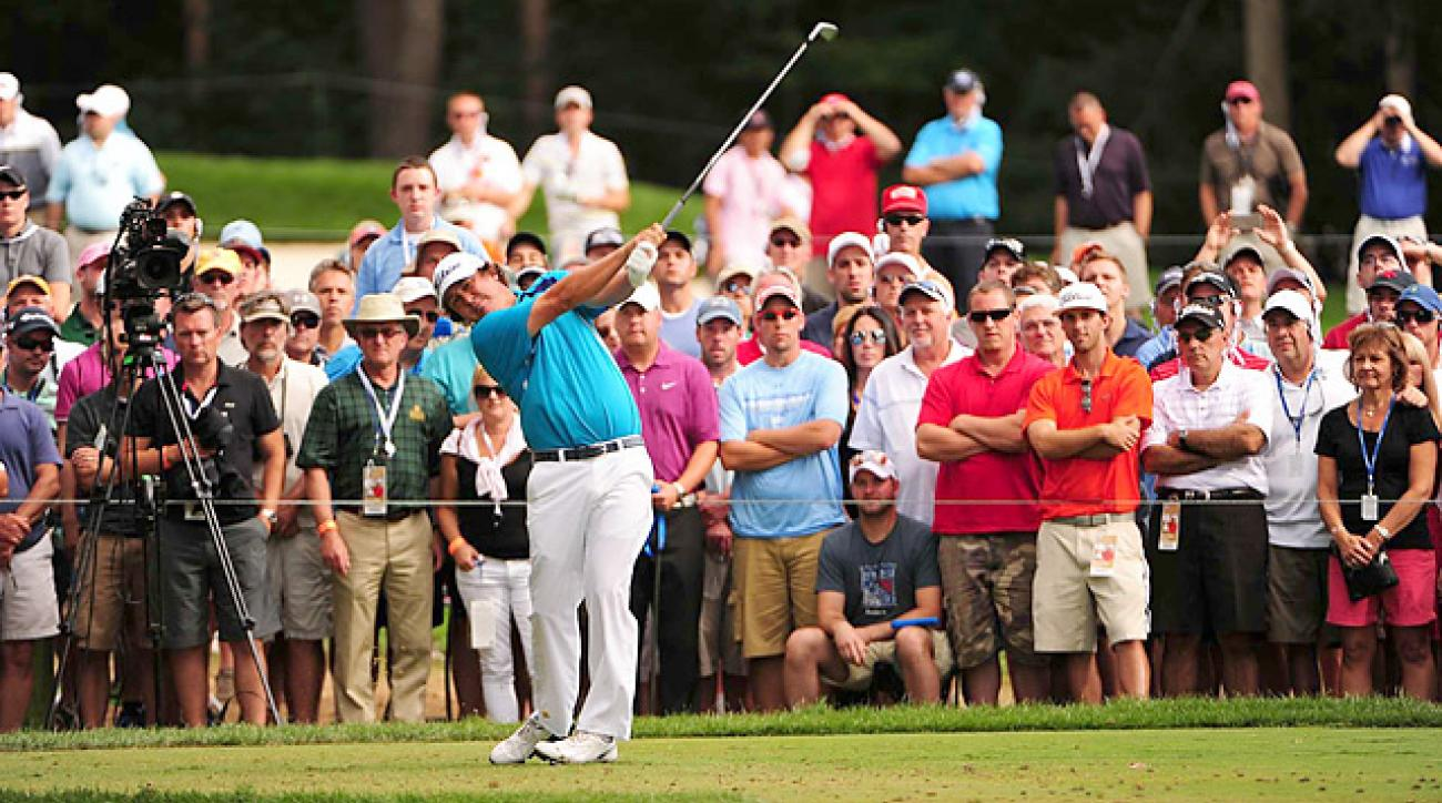 Jason Dufner won the 2013 PGA, becoming the third first-time major-winner of the season.
