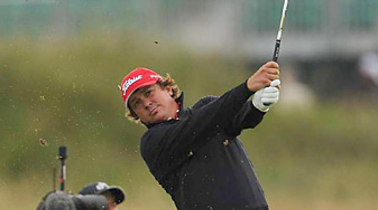 Jason Dufner shot a 66 on Friday at the British Open.
