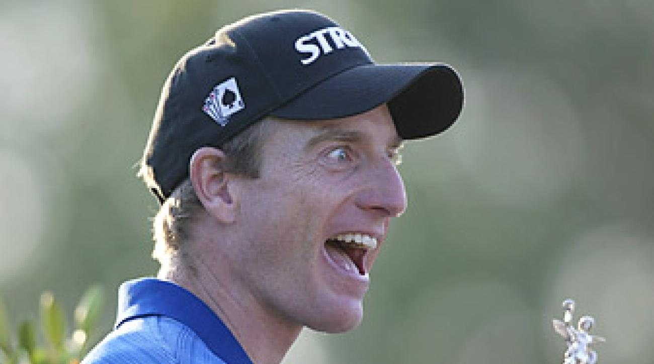 There's a bit of crazy in the 112th U.S. Open at Olympic Club -- just as there seemed to be a little crazy in Jim Furyk after his Open win in 2003.