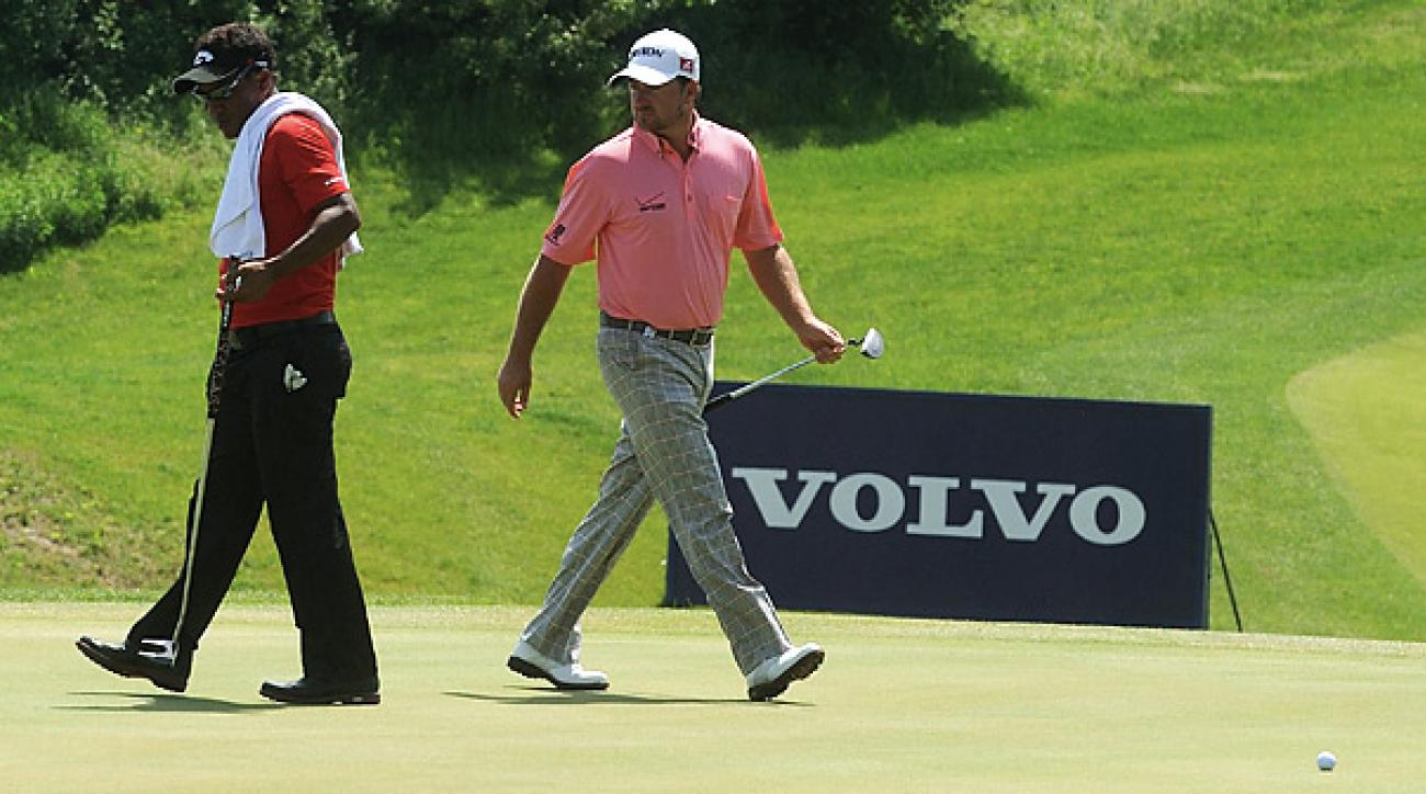 Graeme McDowell beat Thongchai Jaidee 2 &1 in the World Match Play final.