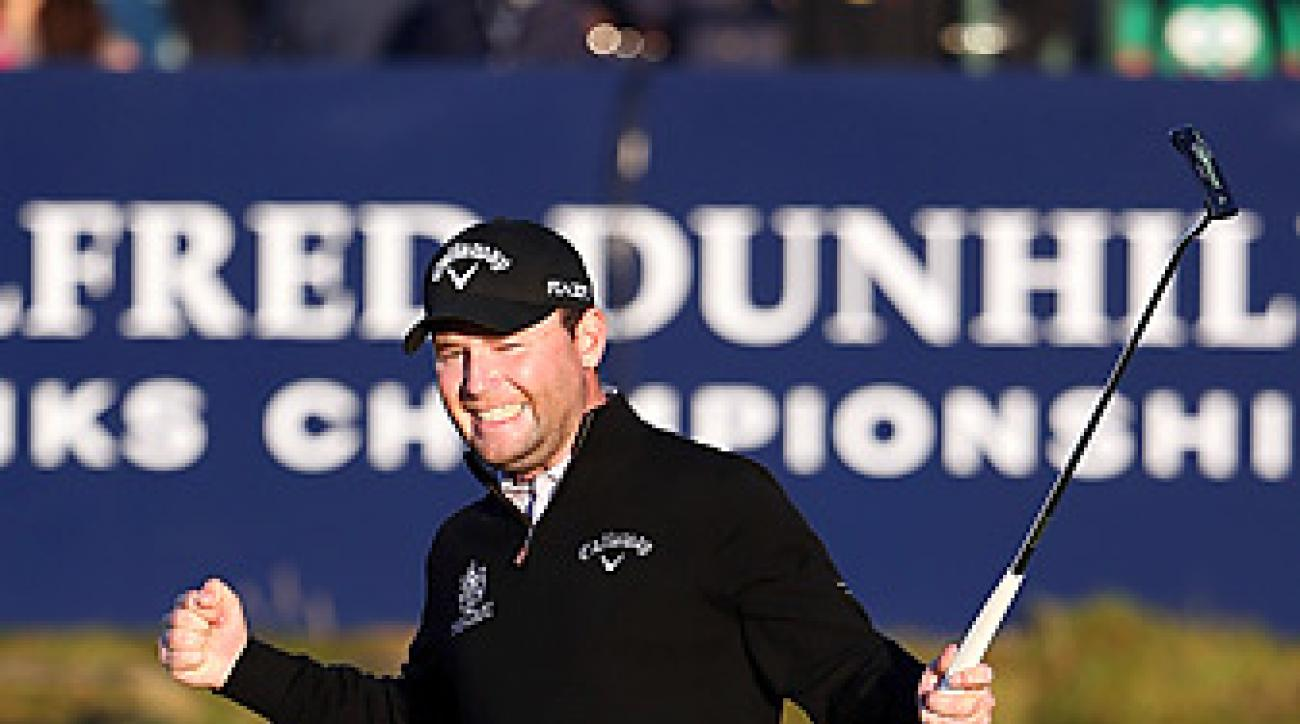 Branden Grace shot a 70 at St. Andrews to earn his fourth win of 2012.