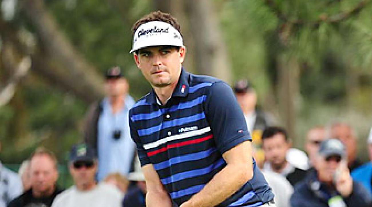 Keegan Bradley is one of golf's rising young stars -- and a proponent of the anchored putting stroke.