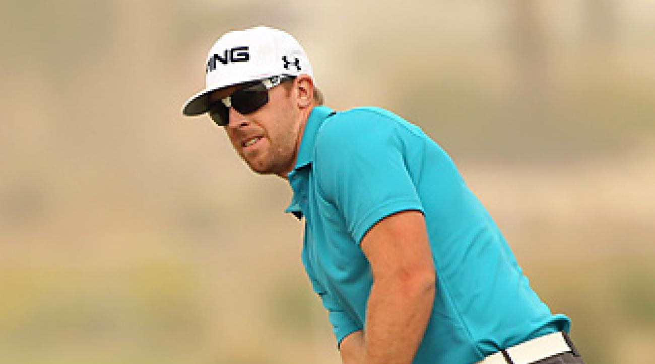 This week Hunter Mahan is competing in the Qatar Masters.