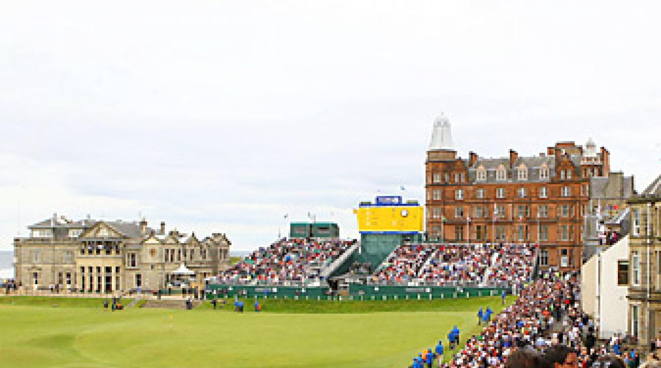 The Old Course at St. Andrews will undergo some alterations ahead of the 2015 British Open.