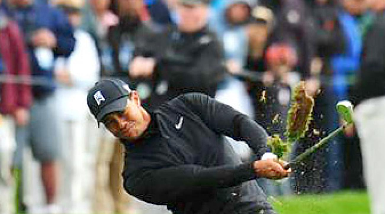 Tiger Woods will face Gonzalo Fernandez-Castano on Wednesday.