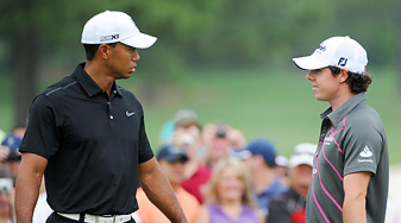 Tiger Woods and Rory McIlroy could face off this week -- and at many majors to come.