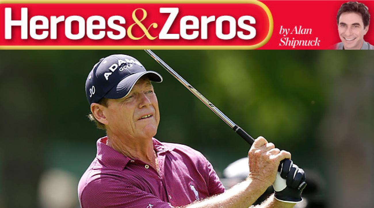 Tom Watson shot a final-round 67 at the Greenbrier Classic.