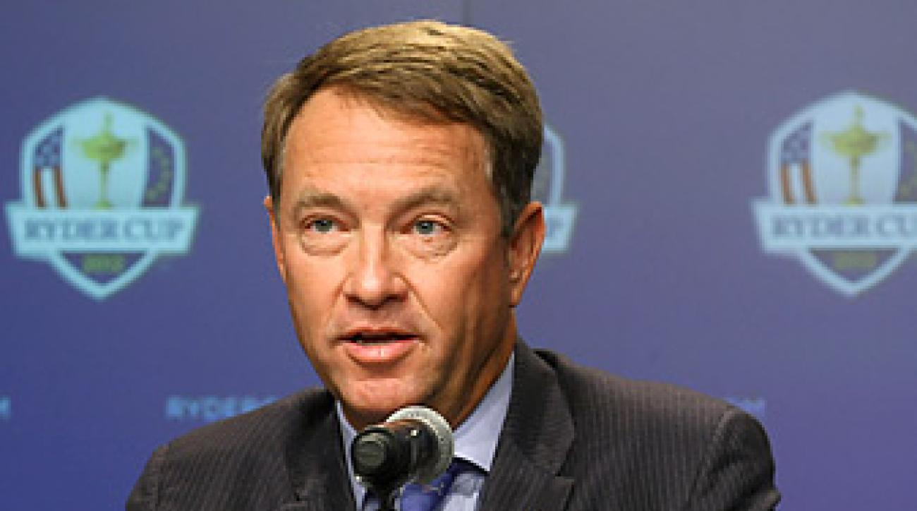 Davis Love III selected Steve Stricker, Dustin Johnson, Jim Furyk and Brandt Snedeker for the U.S. team.