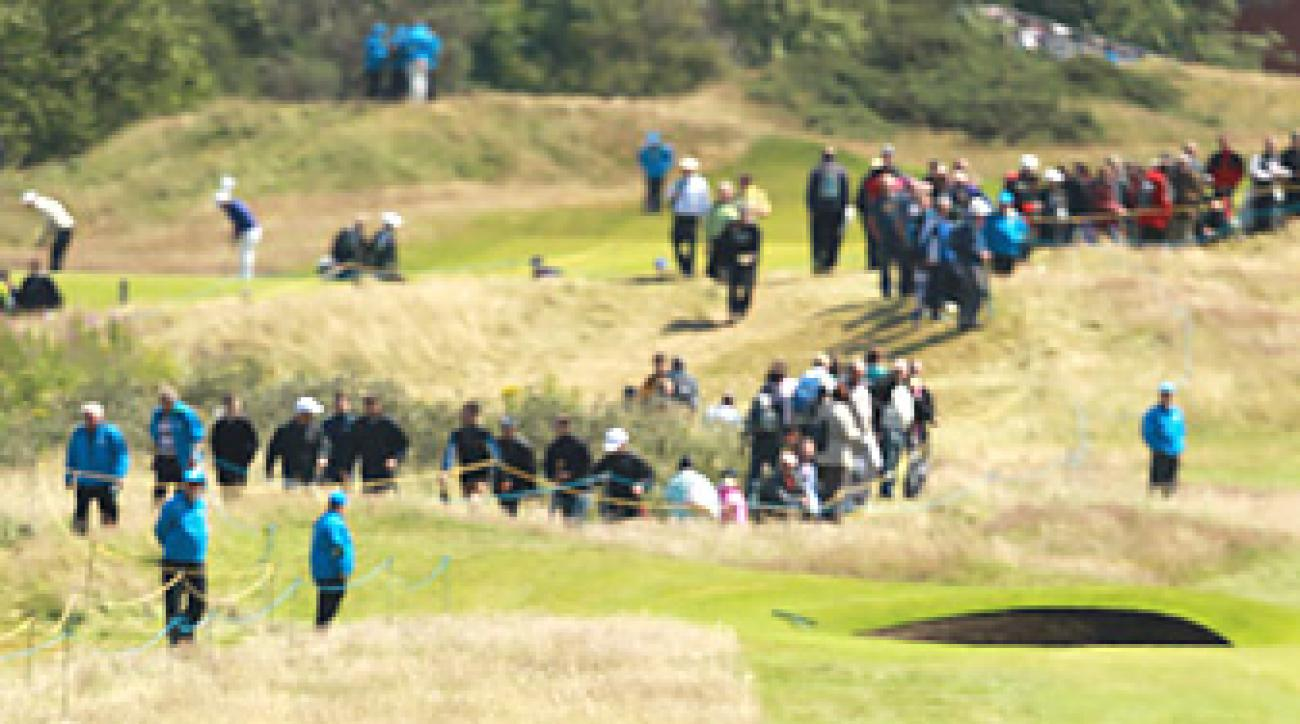 Royal Lytham has 206 bunkers that will pose a challenge to the field this week.