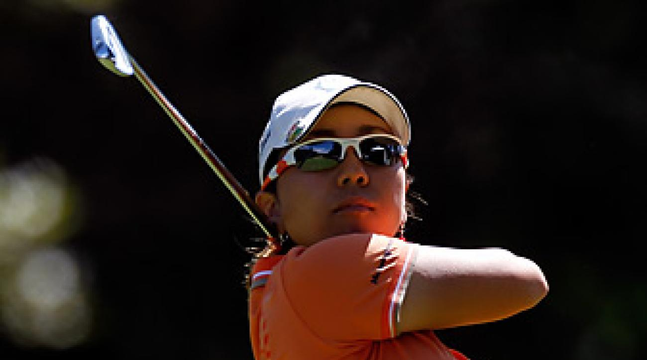 Mika Miyazato earned her first career win on the LPGA Tour.
