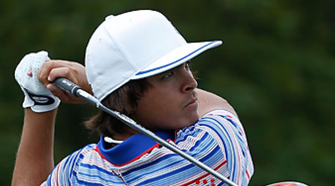Rickie Fowler birdied the first playoff hole to win the Wells Fargo Championship.