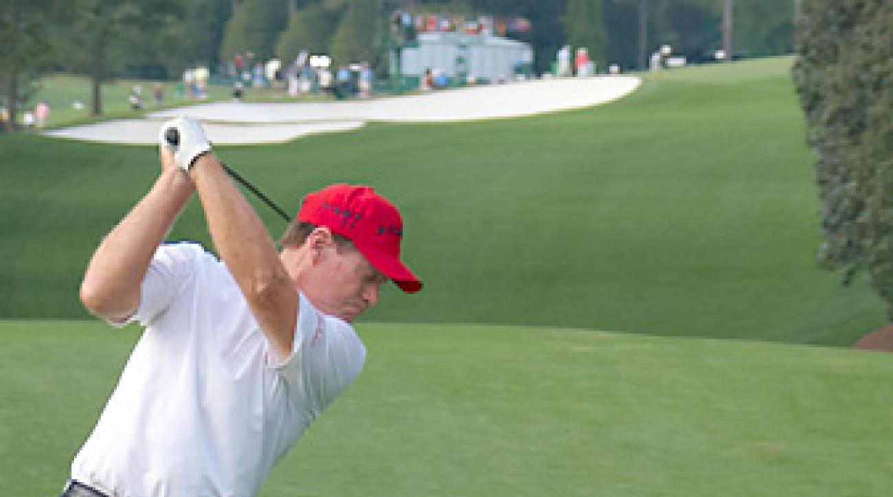 Watson at the 2011 Masters.