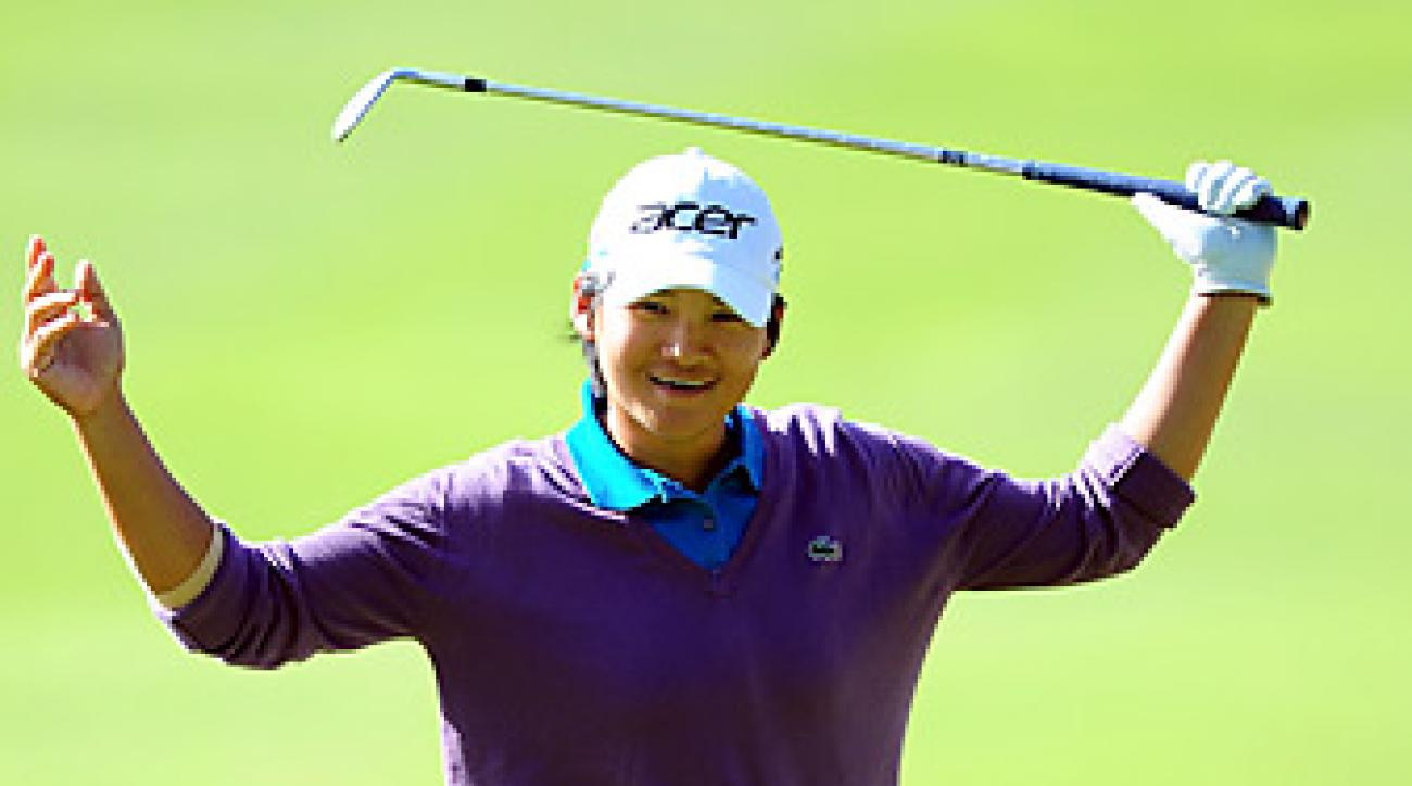 In 2011, Yani Tseng was the only player on the LPGA tour with a scoring average below 70.