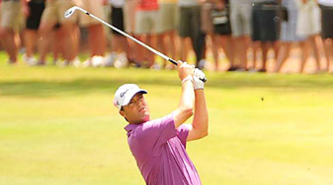 After missing six of seven cuts at the Players, Ryan Palmer tied for fifth.
