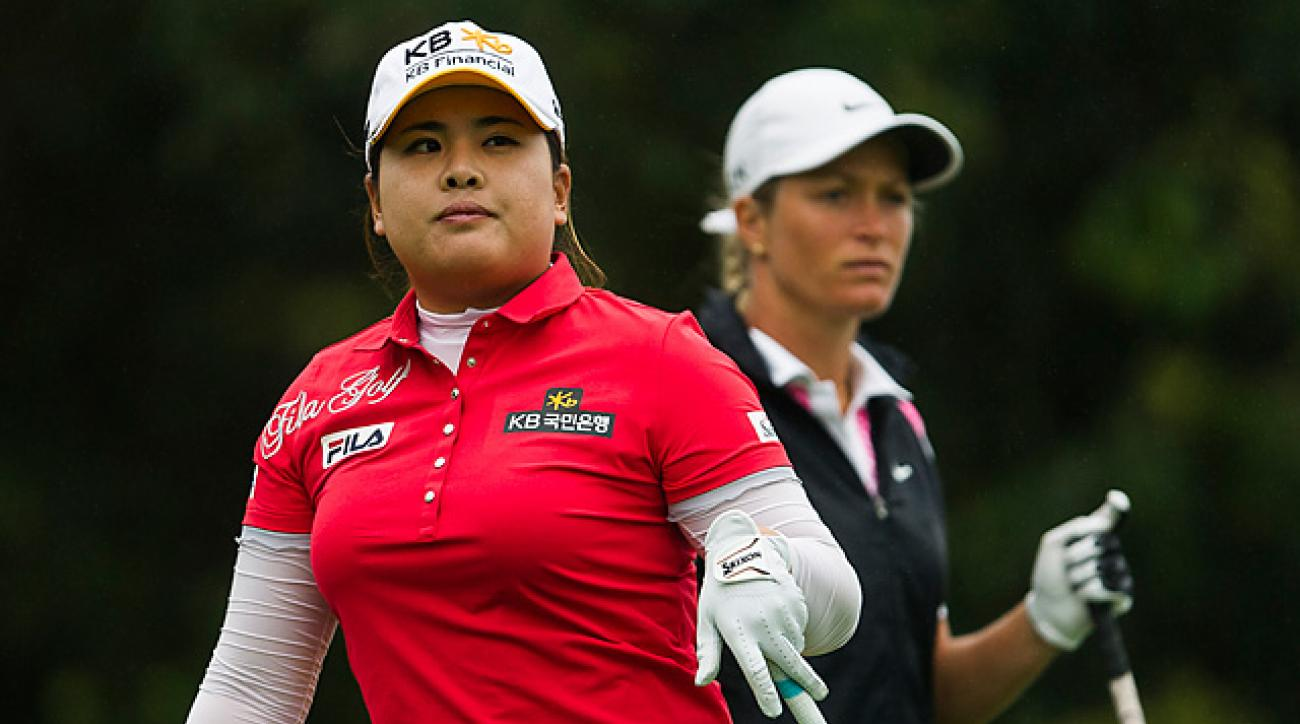 No. 1 Inbee Park avenged last year's loss to No. 2 Suzann Pettersen at Mission Hills.