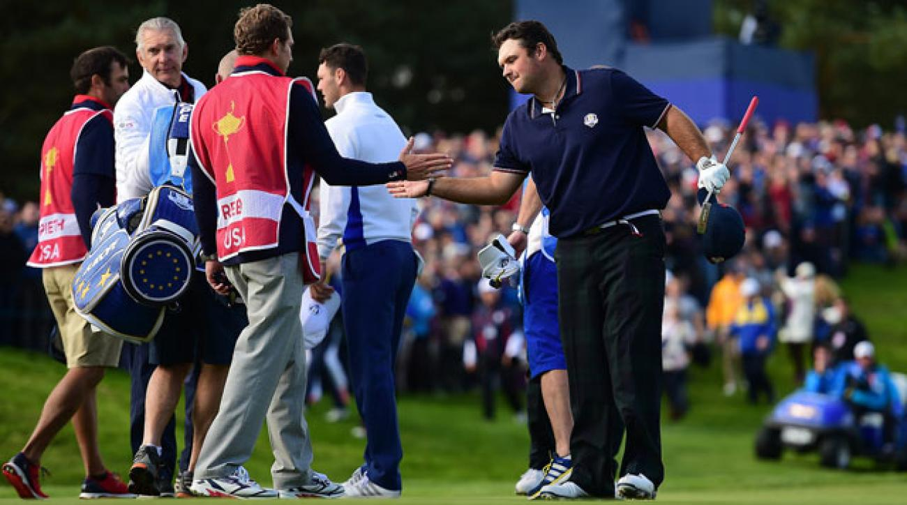 Patrick Reed led the American team in scoring at last month's Ryder Cup.