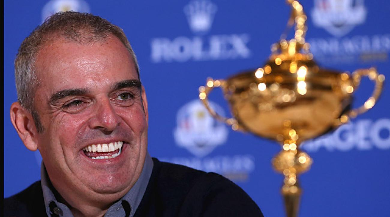 Paul McGinley will captain the Europeans at Gleneagles, Scotland in 2014.