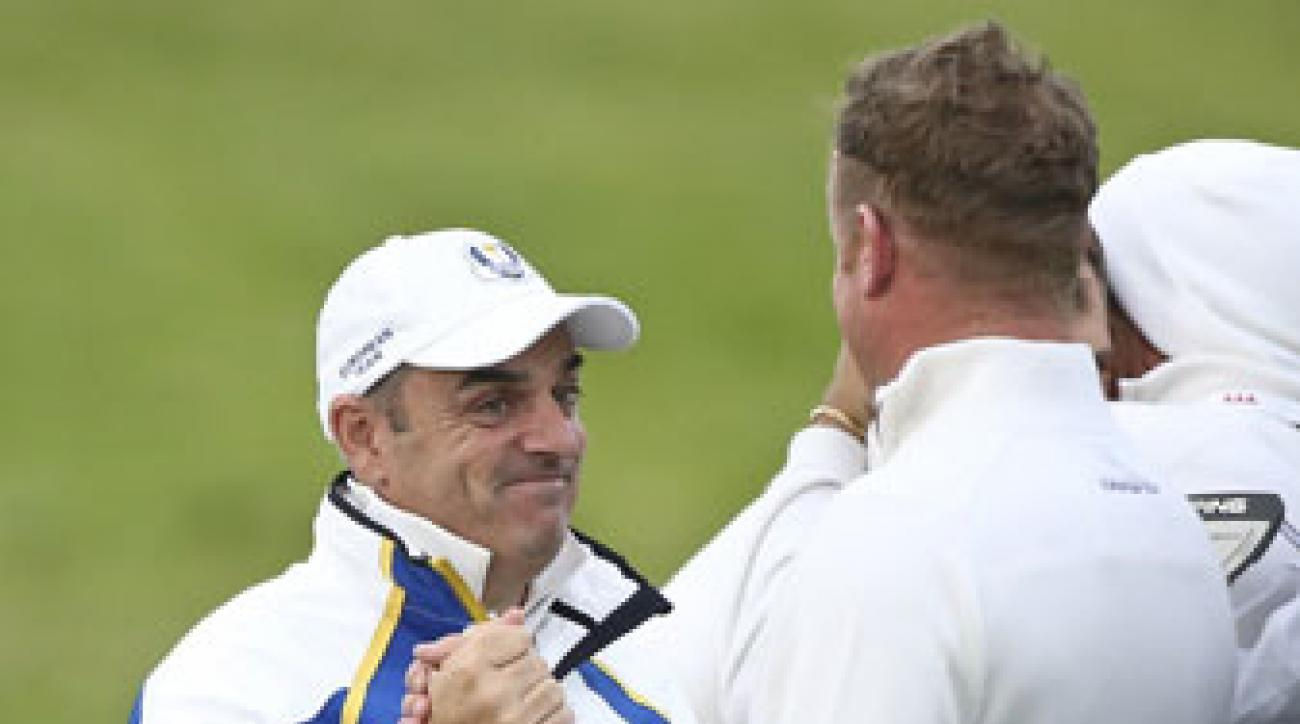 Captain Paul McGinley has Team Europe on the cusp of retaining the Ryder Cup.