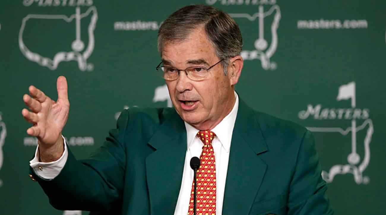Augusta National chairman Billy Payne addressed the media on Wednesday.