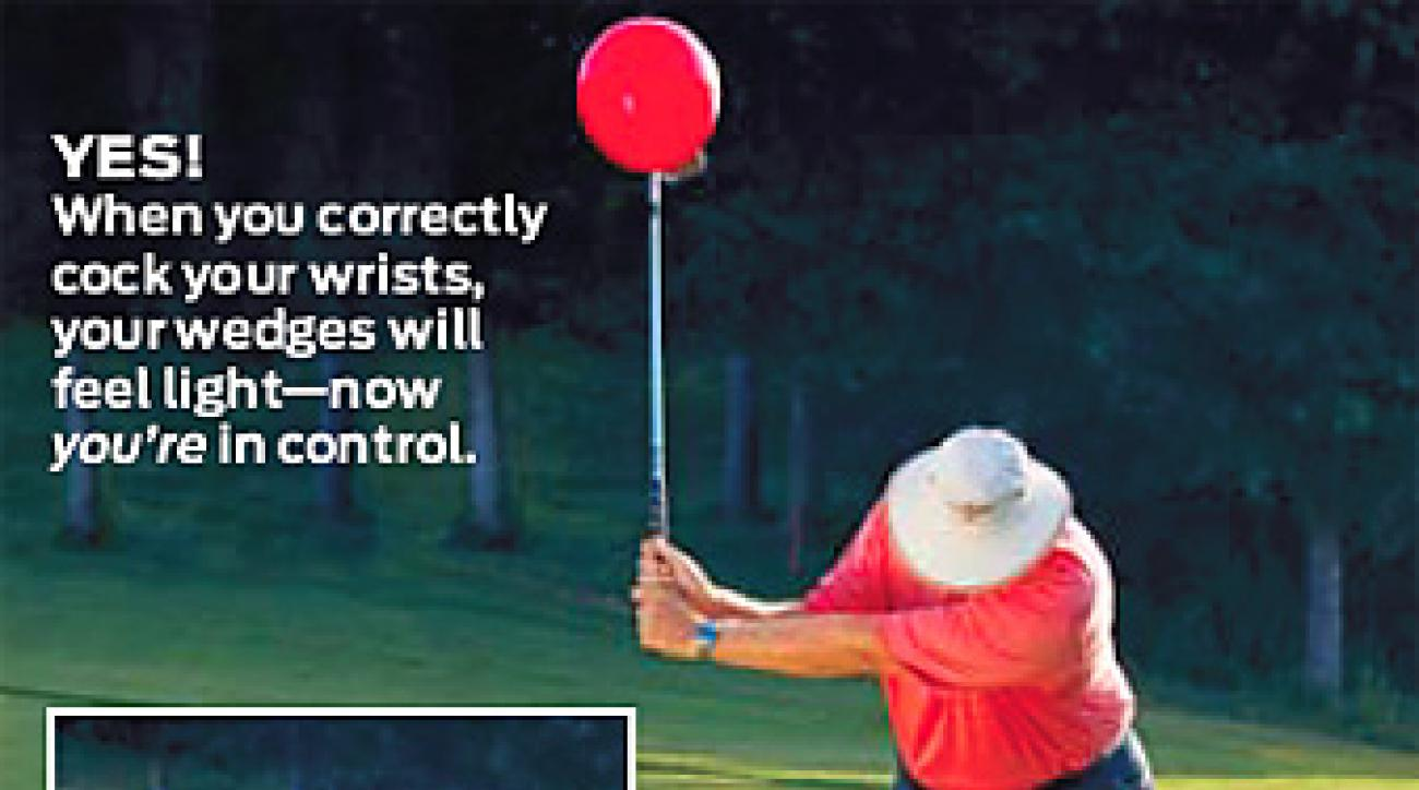If your club feels heavy, you're using the wrong technique.